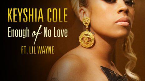 Hot Shot: Keyshia Cole - 'Enough Of No Love' Single Cover