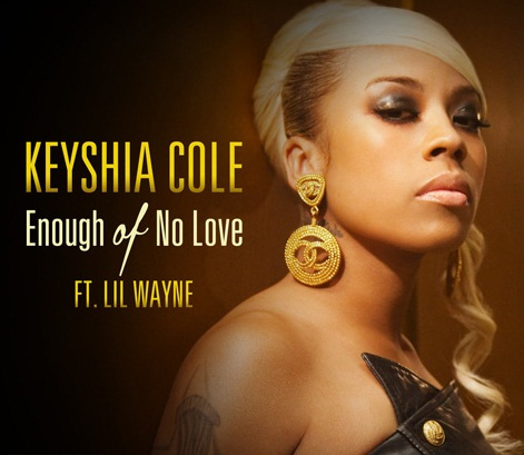 keyshia enough of no love tjg1 Hot Shot: Keyshia Cole   Enough Of No Love Single Cover