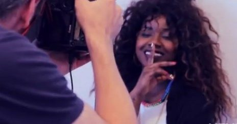 Watch: Misha B Shoots Album Promo