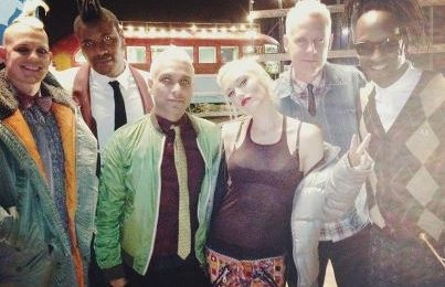 Hot Shot: No Doubt Shoot 'Settle Down' Video