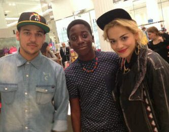Hot Shot: Rita Ora Meets Fans With Rob Kardashian