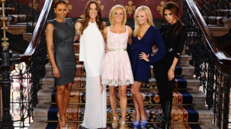 Hot Shot: Spice Girls Reunite