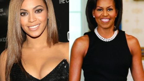 Watch: Beyonce Praises Michelle Obama
