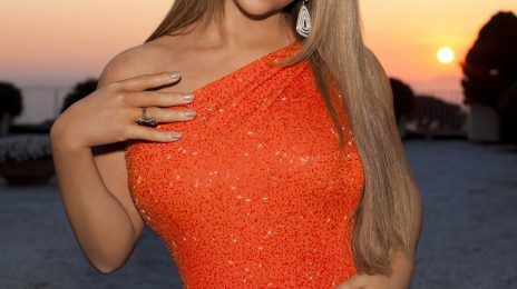 Hot Shot : Mariah Carey Beams In First 'American Idol' Promo Snap
