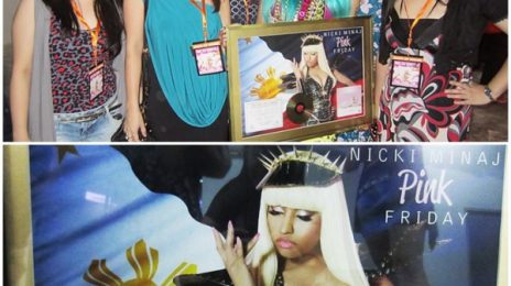 Hot Shot: Nicki Minaj Goes Gold In The Philippines