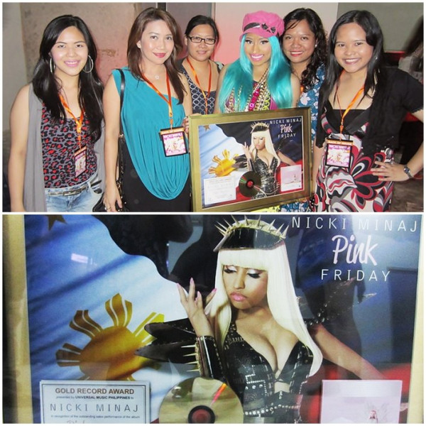 Nicki Minaj Phillipines Hot Shot: Nicki Minaj Goes Gold In The Philippines