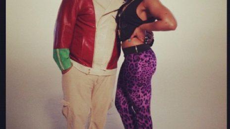 Hot Shots: Ashanti Shoots Video With...Fat Joe
