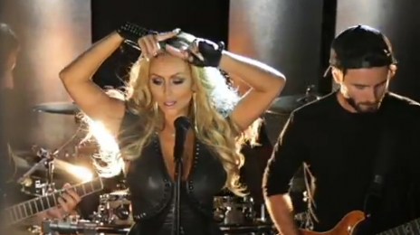 Behind The Scenes: Aubrey O'Day - 'Wrecking Ball'