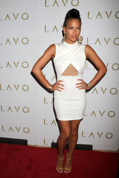 cassie stereo Hot Shots: Cassie Lights Up LAVO
