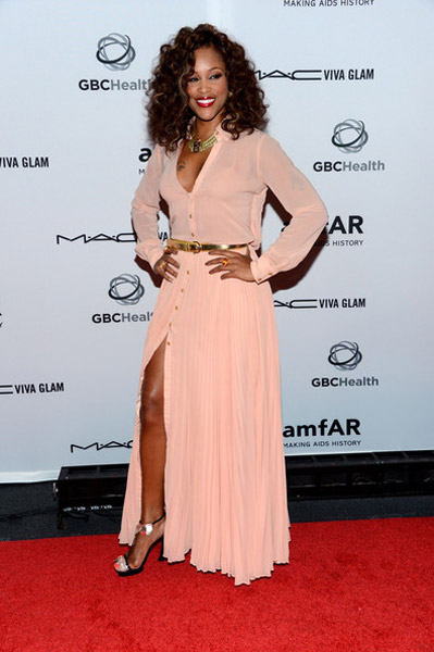 eve amfar tgj 2 Hot Shots: Eve Glows At Amfar Benefit