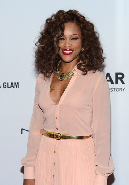 eve amfar tgj Hot Shots: Eve Glows At Amfar Benefit