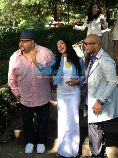 jf holdon2 Hot Shots:  Monica Makes Moves With Gospel Singer James Fortune