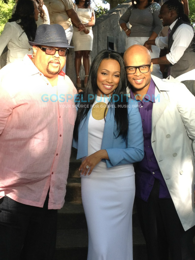 jf holdon4 Hot Shots:  Monica Makes Moves With Gospel Singer James Fortune