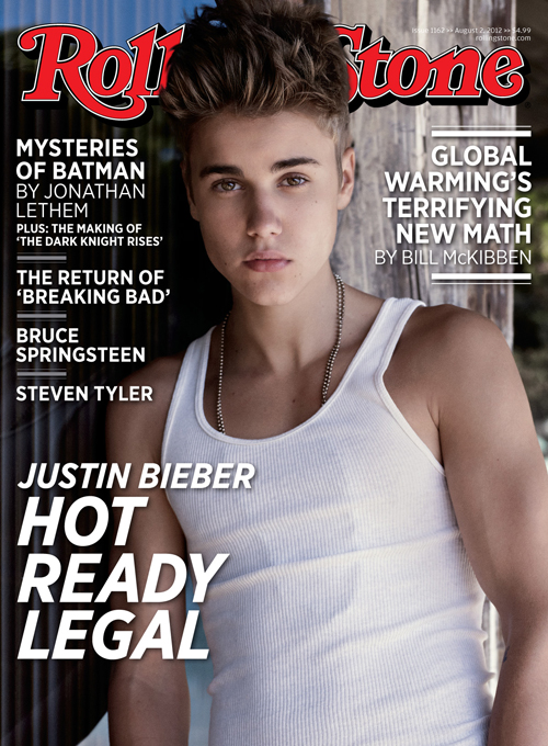 justin bieber rolling stone thatgrapejuice Hot Shot: Justin Biebers Risqué Rolling Stone Cover