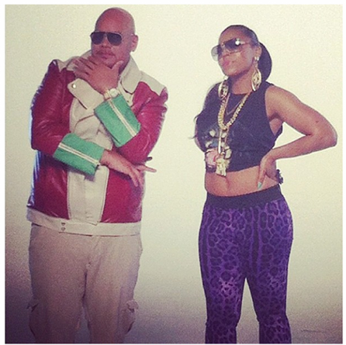 kanye e1343654767987 Hot Shots: Ashanti Shoots Video With...Fat Joe