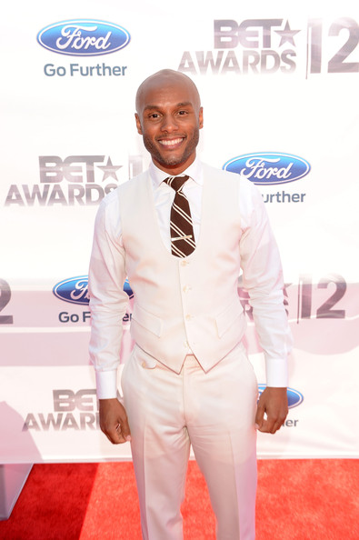 kennylattimore 2012 BET Awards:  Red Carpet Arrivals