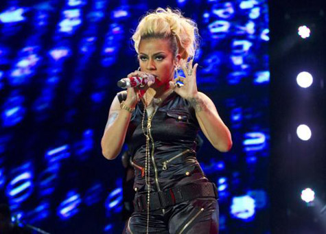 keyshia cole at essence 2012 Hot Shots: Keyshia Cole And Trey Songz Kick Off Essence Festival