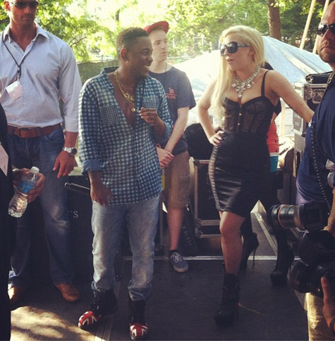 lady gaga kendrick Hot Shots: Lady GaGa Sparks Friendship With Kendrick Lamar