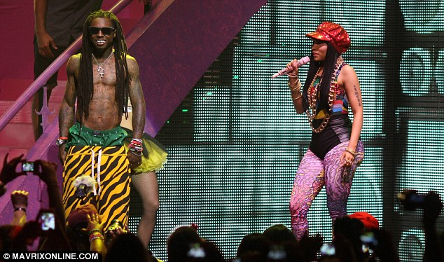 lil wayne and nicki pink friday tour