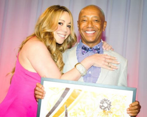 mariah 2 e1343597416572 Hot Shots: Mariah & More Dazzle At Art For Life Gala