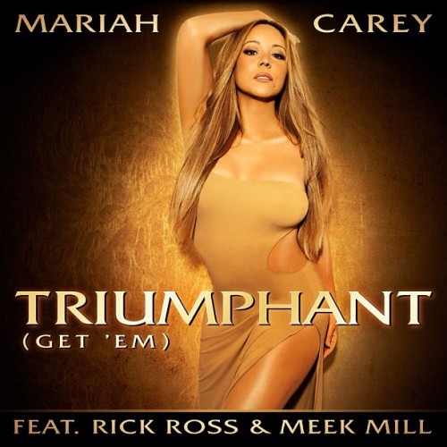 mariah carey triumphant cover e1343661847225 Mariah Carey Unveils Triumphant Single Cover & Release Date