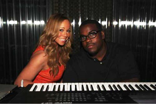 mariah darkchild e1342119071960 Hot Shot: Mariah Carey Hits Studio With Darkchild