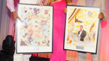 Hot Shots: Mariah & More Dazzle At 'Art For Life' Gala