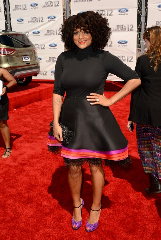 marshaambrosius2012BET 2012 BET Awards:  Red Carpet Arrivals