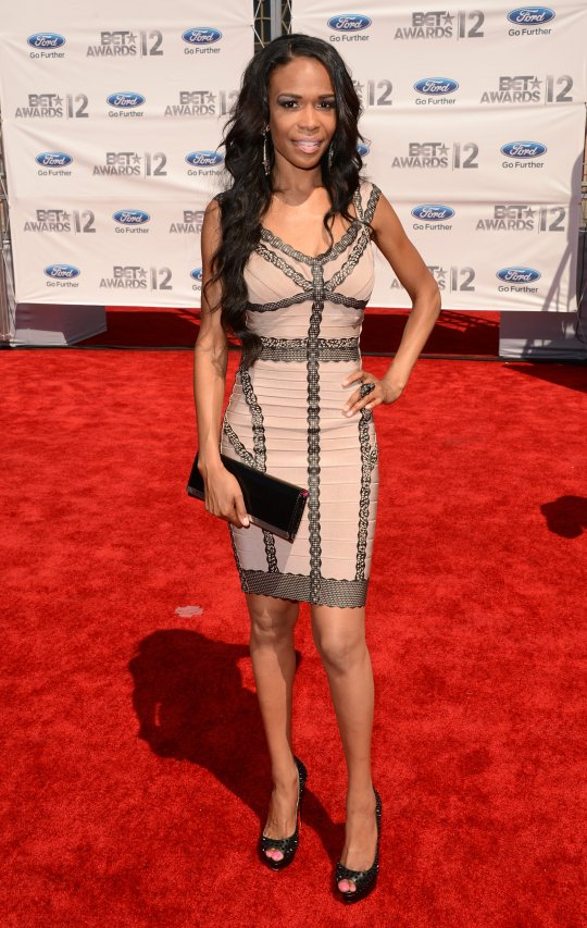 michellewilliamsBET2012 2012 BET Awards:  Red Carpet Arrivals