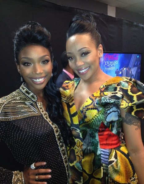 mobranBET Hot Shot:  Monica and Brandy Share Snaps From Backstage of BET Awards
