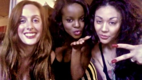 Hot Shot: Mutya Keisha Siobhan Hit Studio