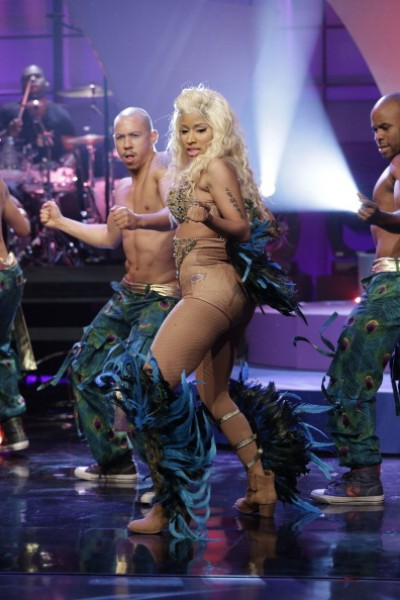 Must See: Nicki Minaj Performs Pounds The Alarm On Leno