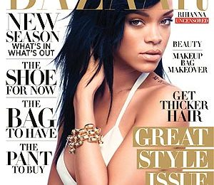 Must See: Rihanna Covers 'Harper's Bazaar' / Opens Up On Chris Brown Heartbreak