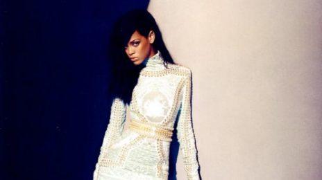 Rihanna Eats 'Birthday Cake' At 2012 Wireless Fest