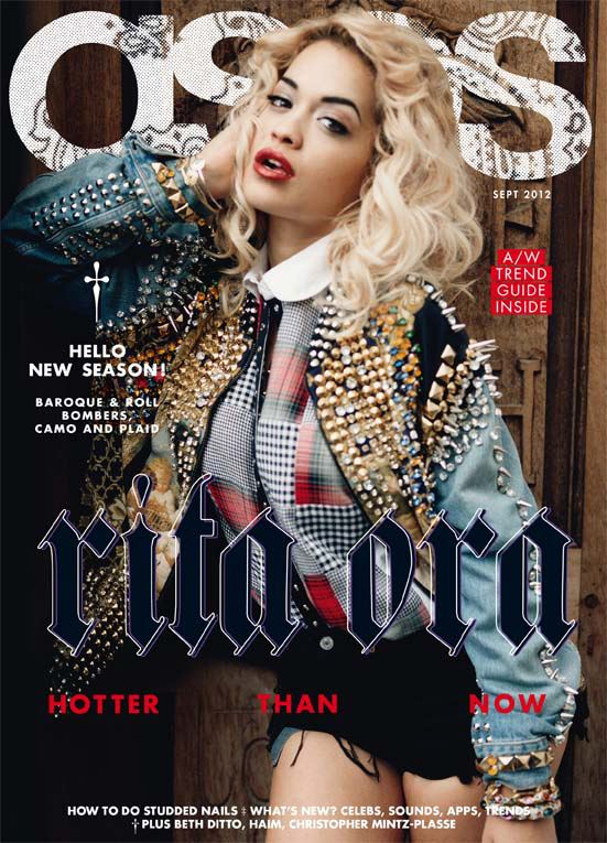rita ora asos mag Hot Shot: Rita Ora Covers ASOS Magazine
