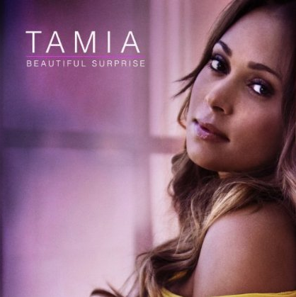 tamia beautiful surprise that grape juice Hot Shot: Tamia Unmasks Beautiful Surprise Album Cover