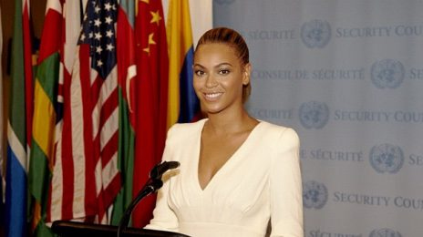 Hot Shot: Beyonce Lends Voice To World Humanitarian Day