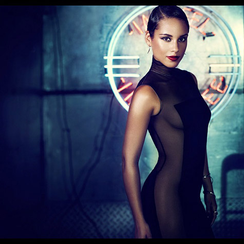 ALICIA KEYS GIRL ON FIRE TGJ Alicia Keys Announces Fiery New Album Title