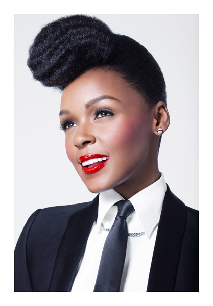 JANELLE MONAE COVERGIRL TGJ Winning: Janelle Monae Becomes A CoverGirl