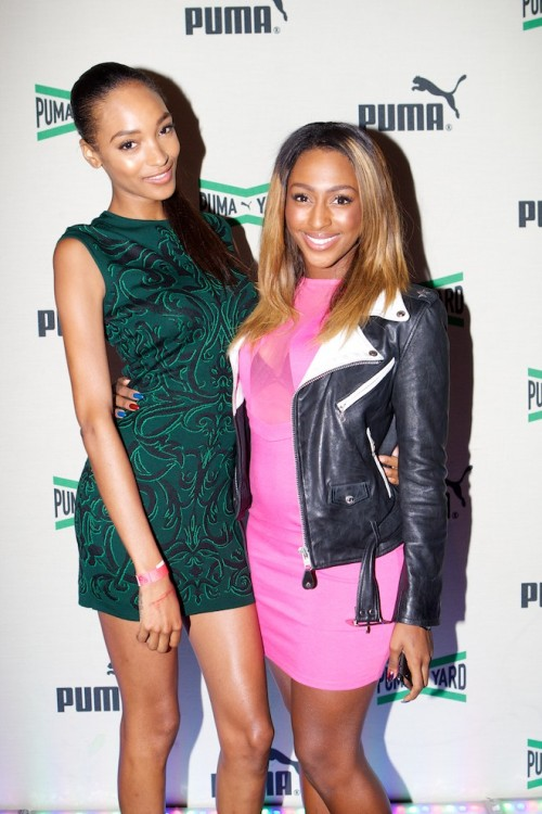 Jourdan Dunn AB 109 e1344253104608 Hot Shots: Alexandra Burke Beams At PUMA Yard