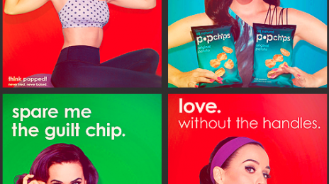 Hot Shots:  Katy Perry Poses For PopChips, Shares More From Her 'L'Official' Shoot