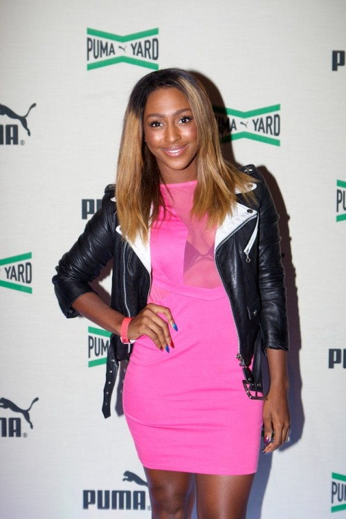 ab 112 e1344253136202 Hot Shots: Alexandra Burke Beams At PUMA Yard