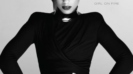 Alicia Keys Reveals 'Girl On Fire' Album Cover