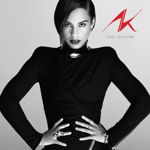 alicia keys girl on fire cover Alicia Keys Reveals Girl On Fire Album Cover