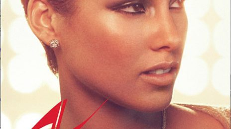 Alicia Keys Unveils 'Girl On Fire' Single Cover