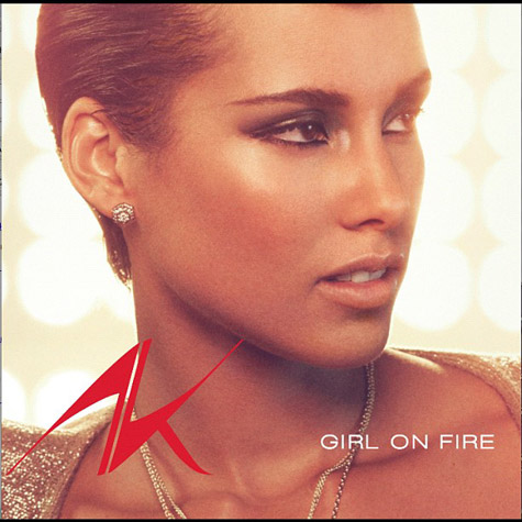 alicia keys girl on fire that grape juice Alicia Keys Unveils Girl On Fire Single Cover