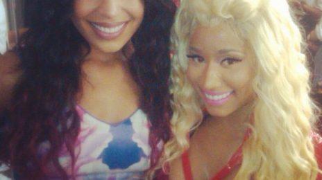 Hot Shot: Jordin Sparks Meets Nicki Minaj