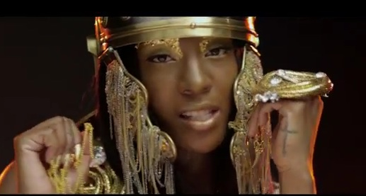 dawn richard wild n faith video thatgrapejuice New Video: Dawn Richard   Wild N Faith