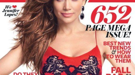 Hot Shots:  Inside Jennifer Lopez's September 'Instyle' Spread