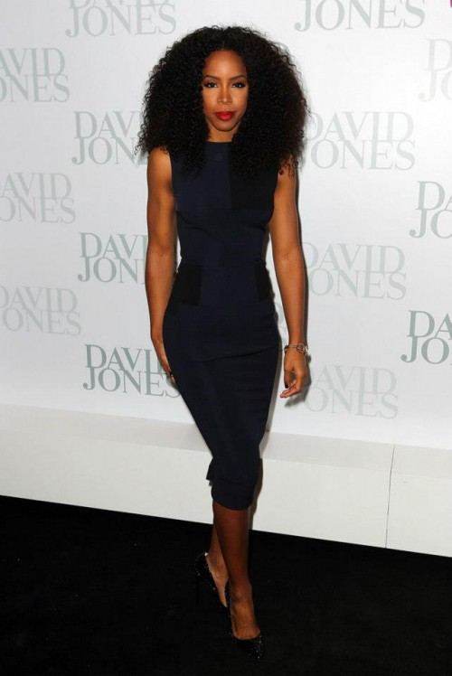kelly rowlnd 456 e1344947574906 Hot Shots: Kelly Rowland Dazzles For David Jones